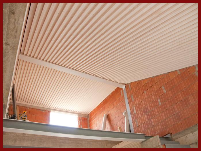 elevazione tetto mansarda : Collegamento della falda di copertura con lultimo solaio